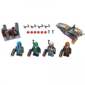 MANDALORIAN LEGO STAR WARS PACK DE COMBAT AMB MINIFIGURES