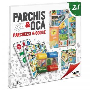PARXÍS – OCA AMB ACCESORIS 40X40 CMS